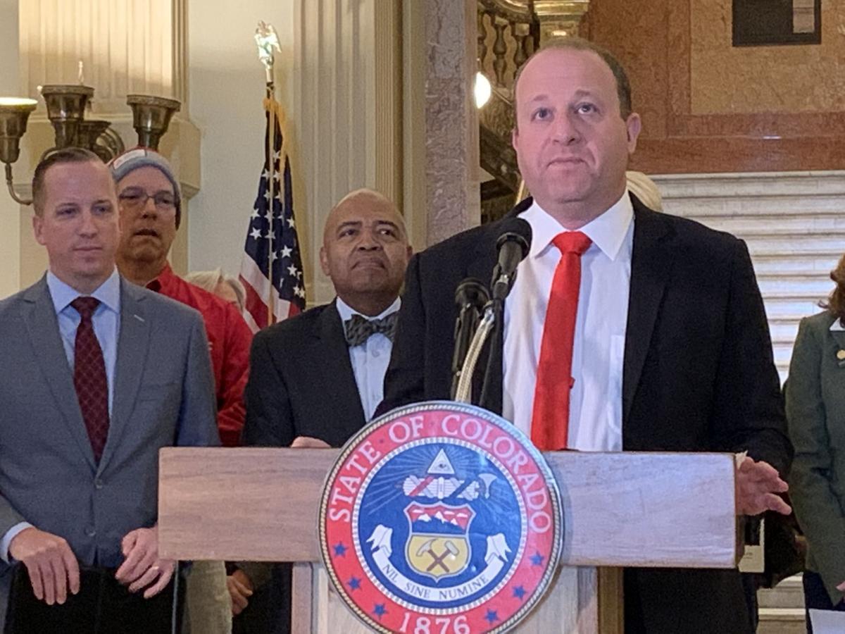 Gov. Jared Polis announces health insurance premium rate reductions