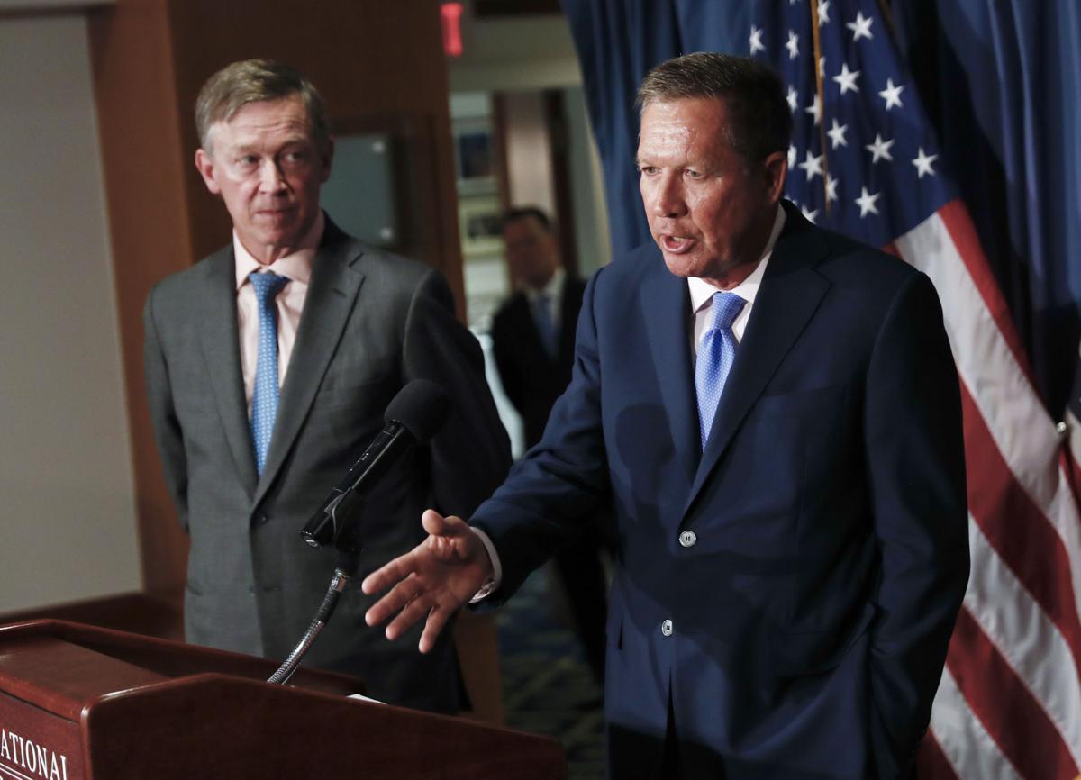Hickenlooper, Kasich team up again — this time against Trump's trade war
