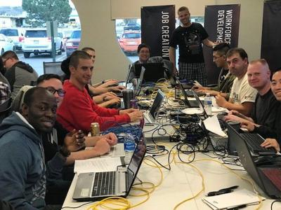 PHOTO: Capture the (cyber) flag: National Cybersecurity Center expands role in competitions