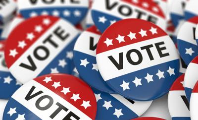 Campaign Vote Buttons election