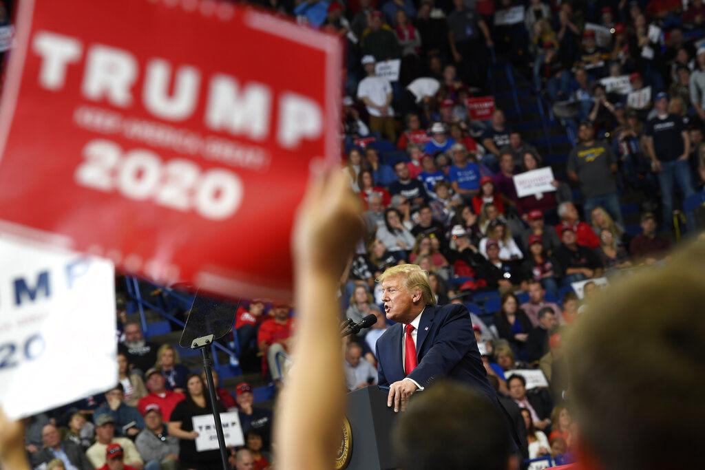 APTOPIX Election 2020 Trump