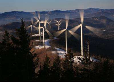 Legislatures Going Green wind turbines