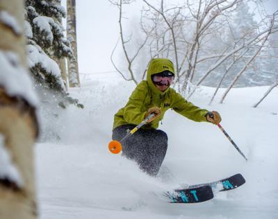 Purgatory skier