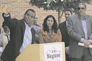 Democrat Joe Neguse files for SoS