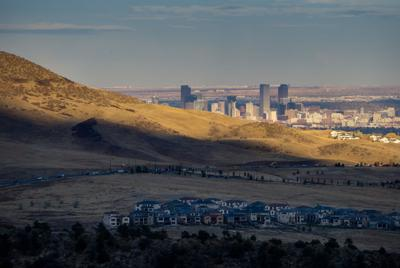 Denver From The Foothills