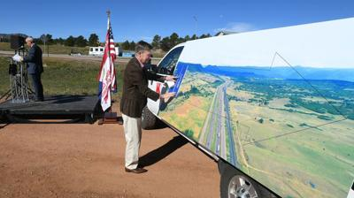 COVER STORY TRANSPORTATION Construction begins on widening of Interstate 25 'Gap