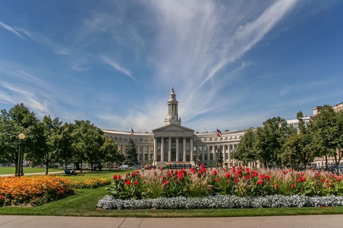 Denver city and county building in Colorado