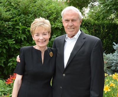 Marcy and Bruce Benson.