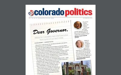 COVER STORY | DEAR GOVERNOR: Advice for Colorado's next chief executive