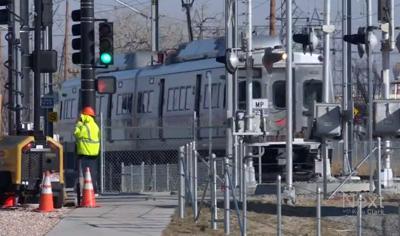 9NEWS A Line crossing