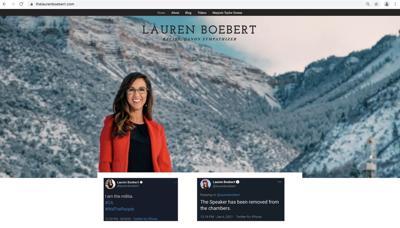 TheLaurenBoebert website