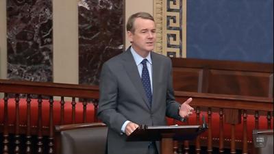 U.S. Michael Bennet floor speech
