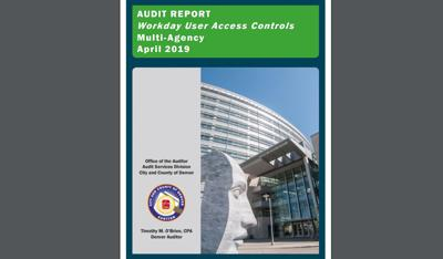 Cover of the news Denver Auditor's report on Workday.
