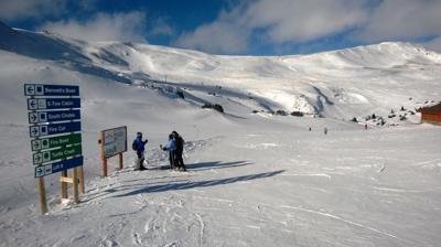 Loveland skiing