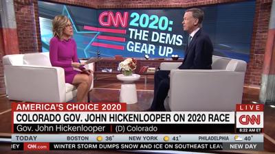 Hickenlooper on CNN