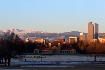 Denver City Park in the Winter