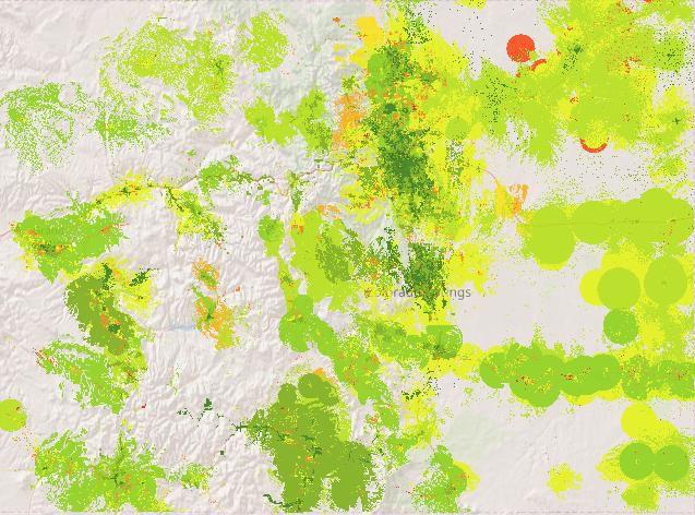 Colorado broadband map