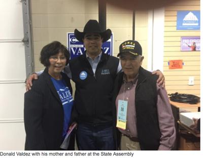 House District 62 Dems nominate Valdez despite dissension