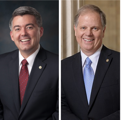 Cory Gardner and Doug Jones