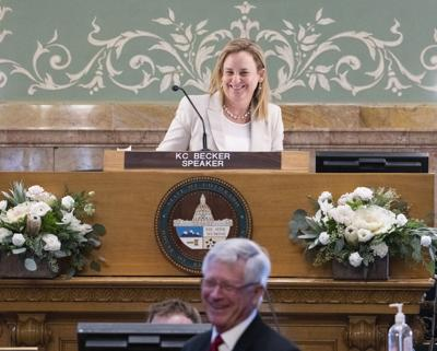 Colorado House Speaker KC Becker 2020 opening day