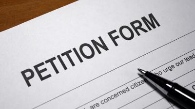 Petition Form ballot measure