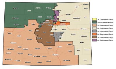 Colorado congressional staff draft map 1