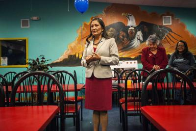 Activists laud Native American women's election to US House