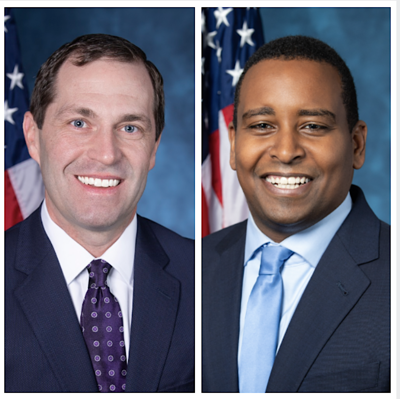 Rep. Jason Crow and Rep. Joe Neguse