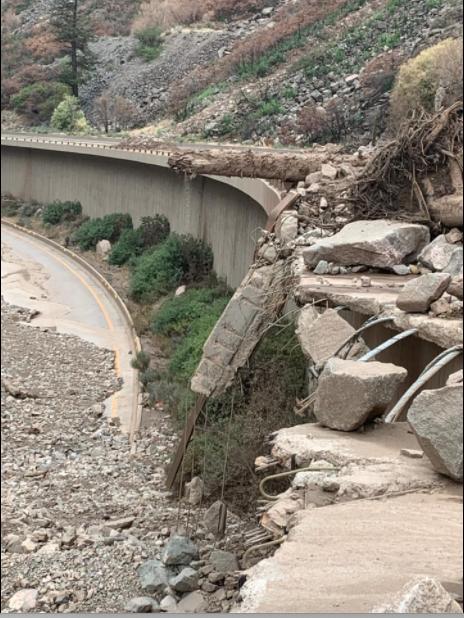 Glenwood Canyon damage #3