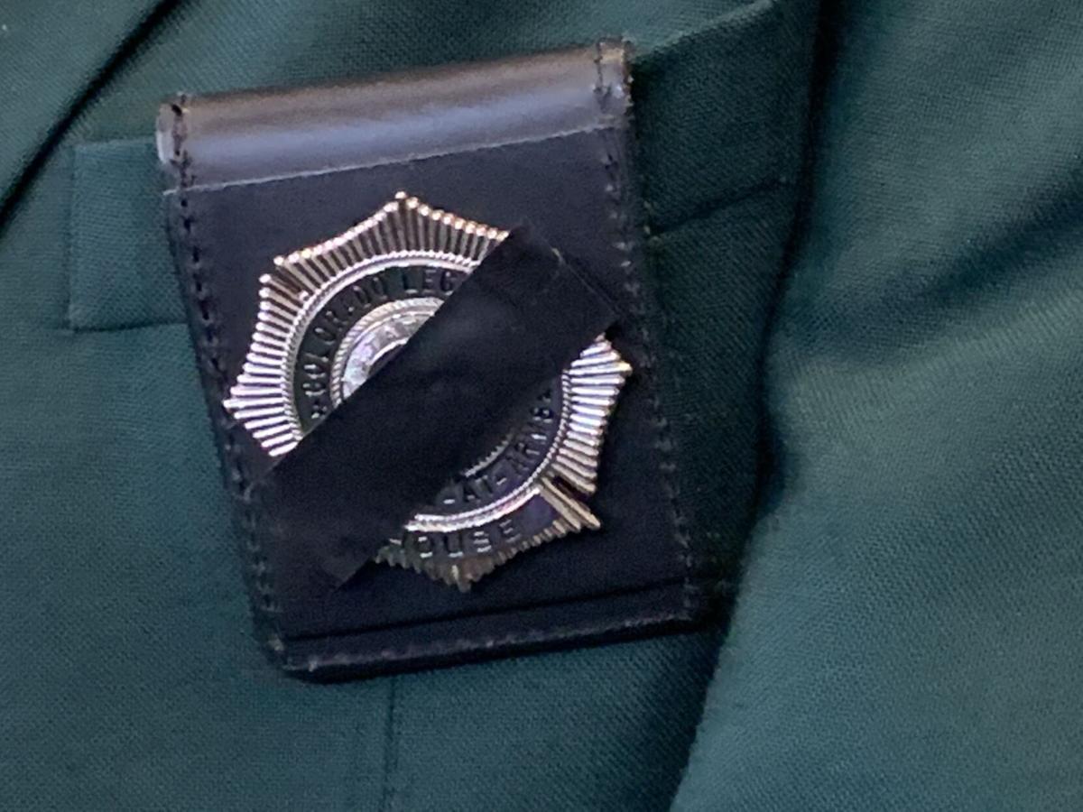 House sergeant badge