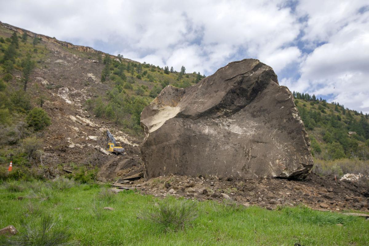 Colorado Rock Slide