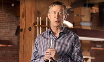 Poll shows Hickenlooper swamping competition in Democratic US Senate primary
