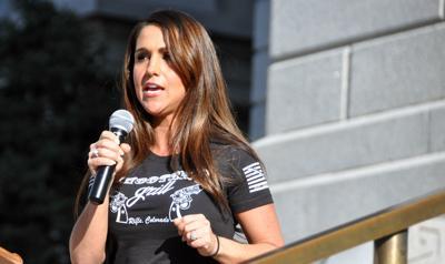Lauren Boebert Rally Election 2020