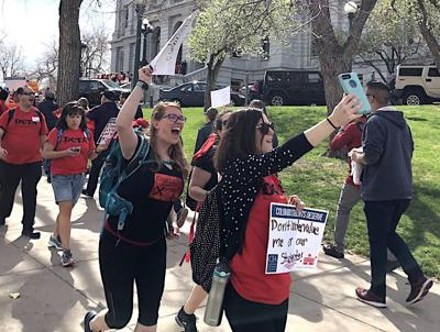 Colo. teachers have a lot to sweat out in 2018 legislature's final days