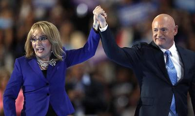 Gabby Giffords backs Democratic congressional candidate Joe Neguse