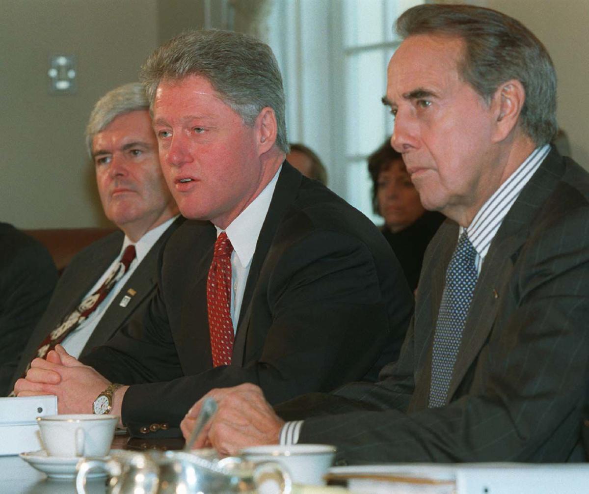 Clinton Dole Gingrich