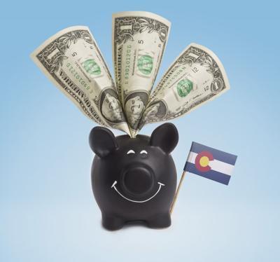 Colorado money tax budget