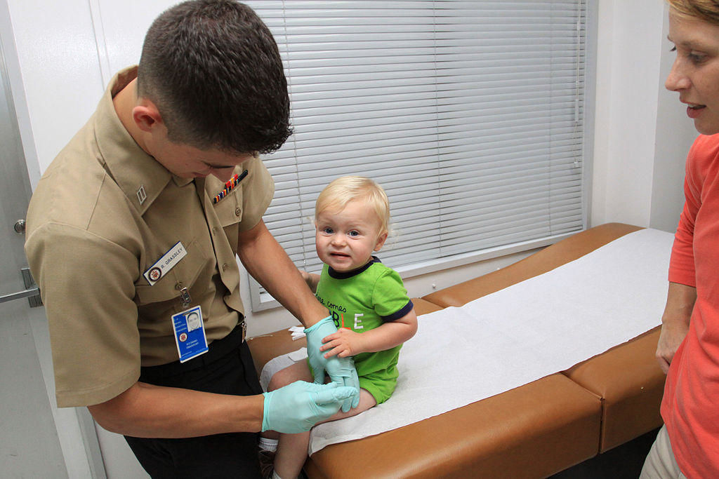 Childhood vaccination