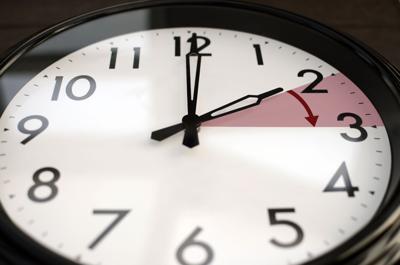 Daylight savings time cock