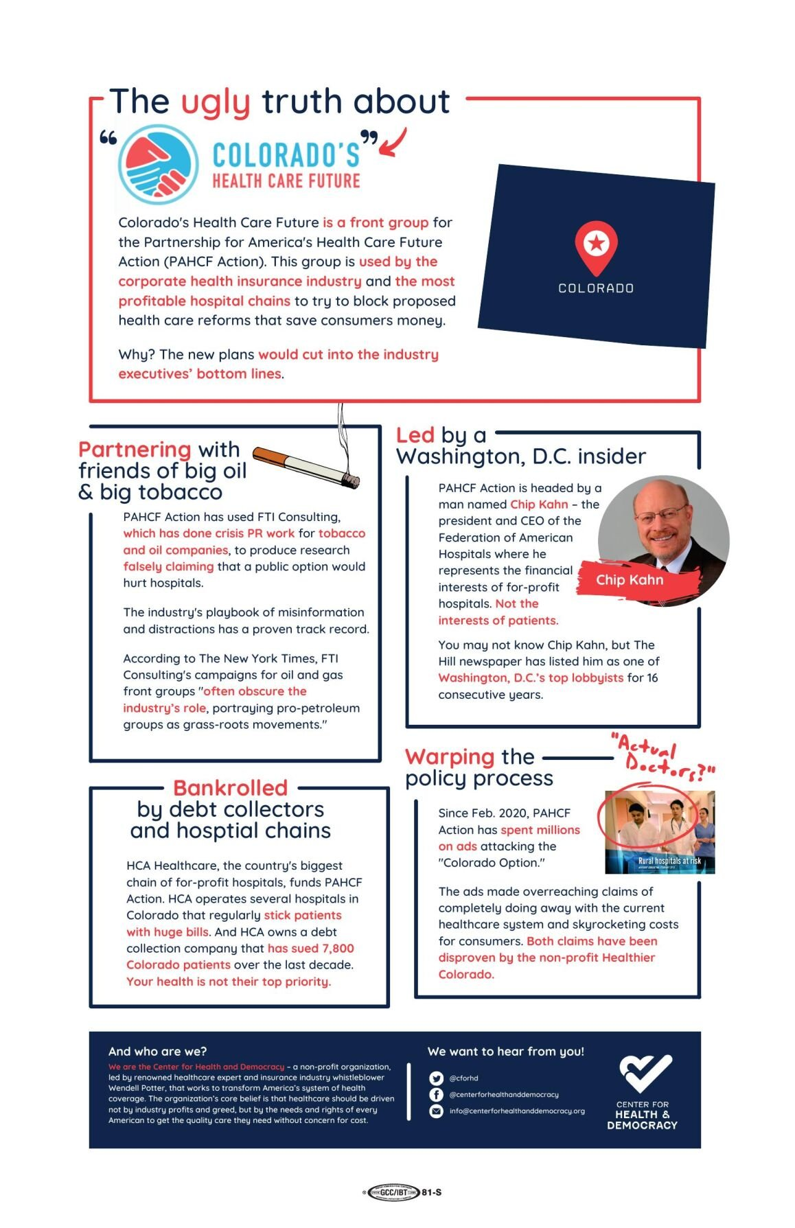 Potter fact sheet