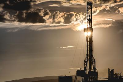 oil gas drill rig well