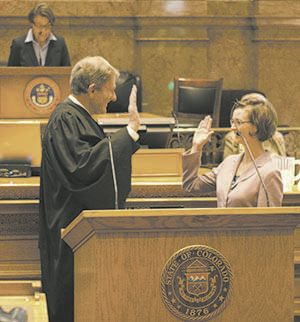 New state senator Zenzinger sworn into office (copy)