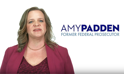 Amy Padden releases first TV ad for her AG's campaign