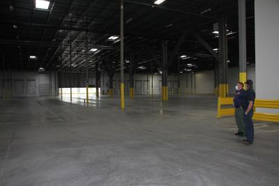 Donated warehouse space for COVID-19 storage