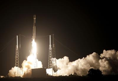 APTOPIX Rocket Launch