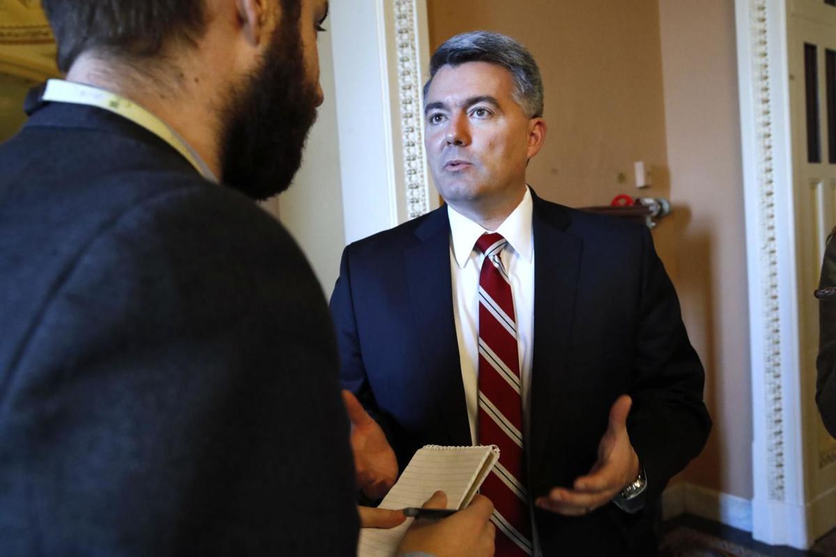 U.S. Sen. Cory Gardner, R-Colorado.