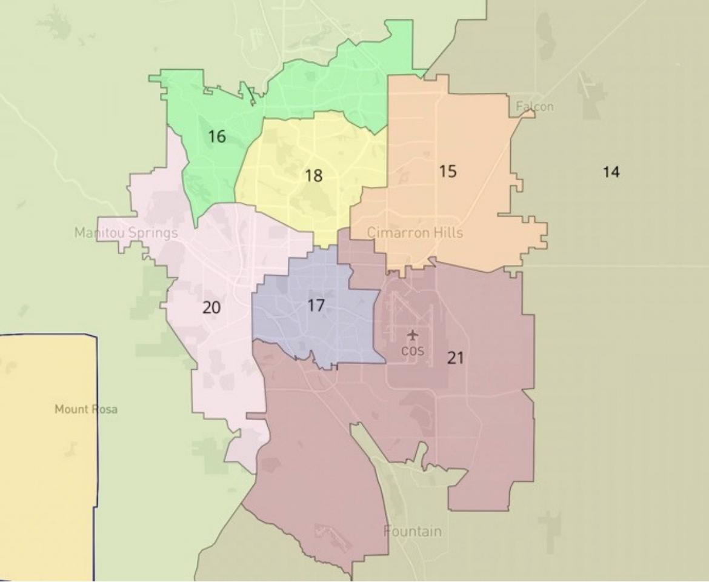 CLLARO Colorado Springs-area House district proposal