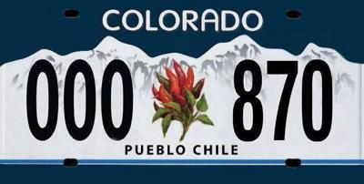 Coloradans can now spice up their rides with Pueblo Chile plates
