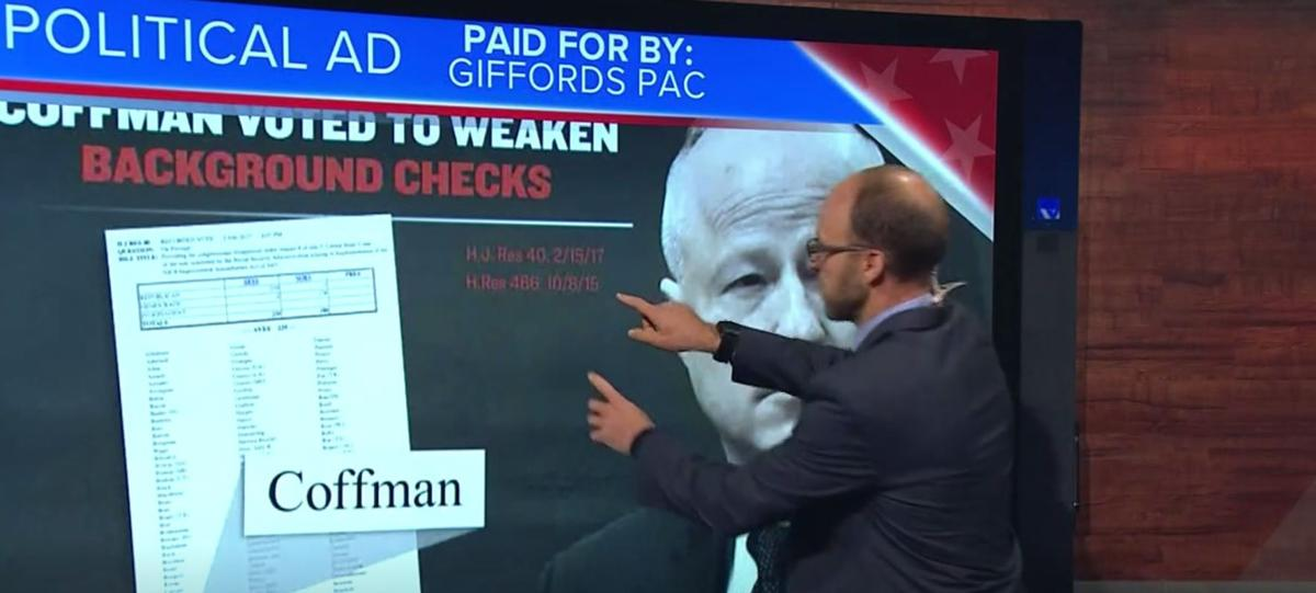 9NEWS TRUTH TEST | New anti-Coffman ad from Giffords PAC