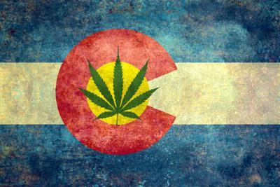 PHOTO colorado marijuana pot flag (copy)